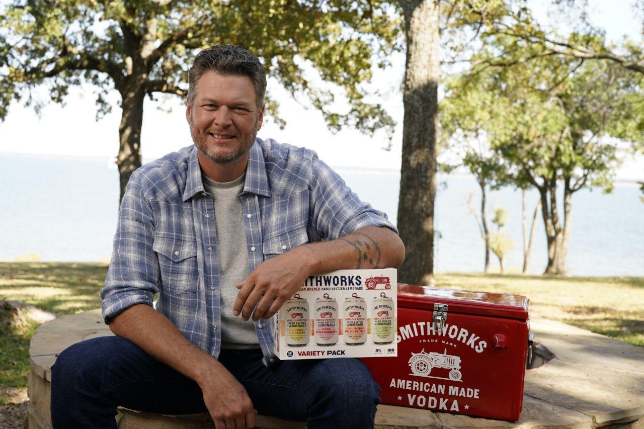 Blake Shelton and Smithworks Toast to New Hard Seltzer Lemonade