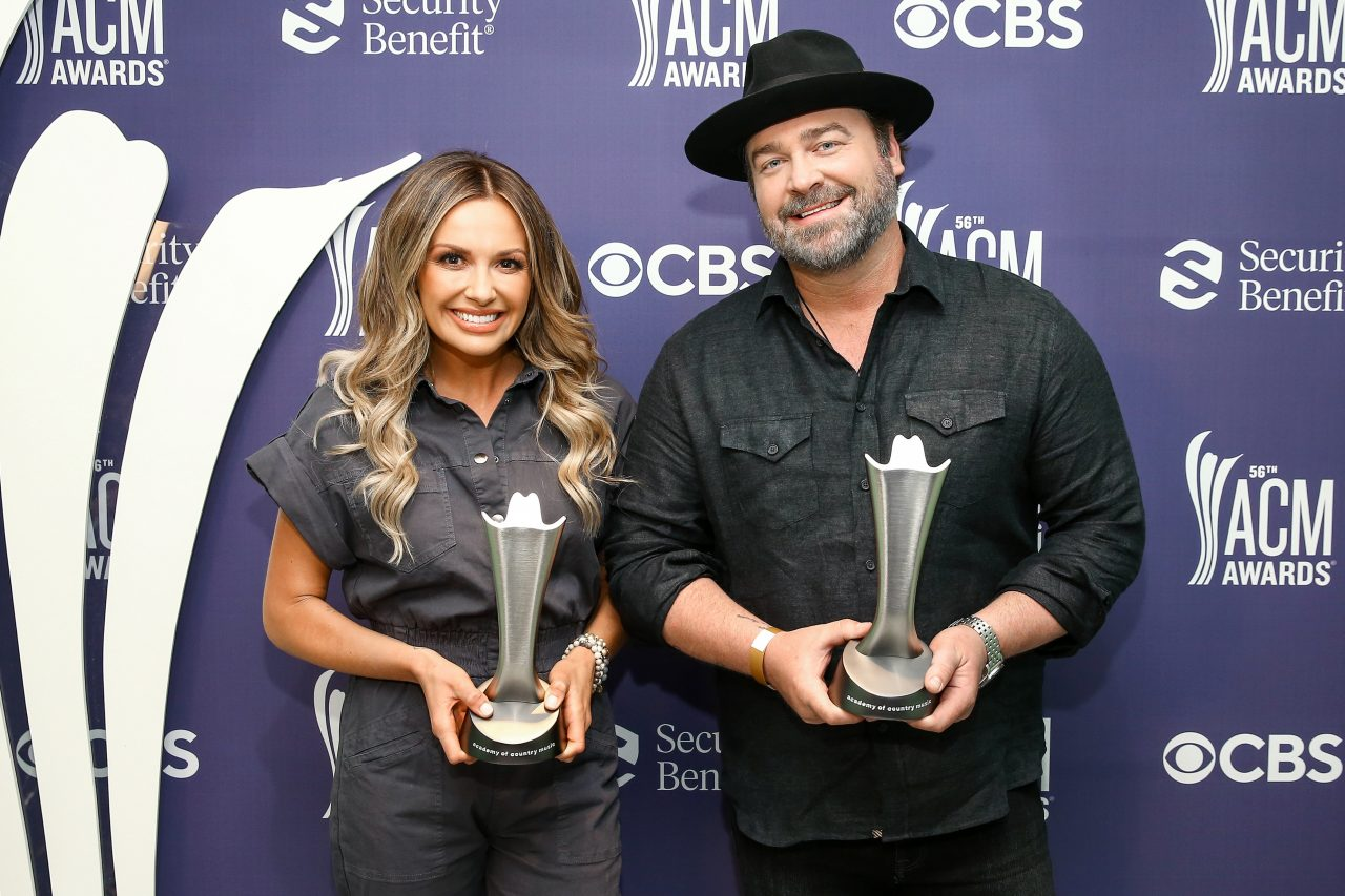 Carly Pearce and Lee Brice Win 2021 ACM Music Event of the Year
