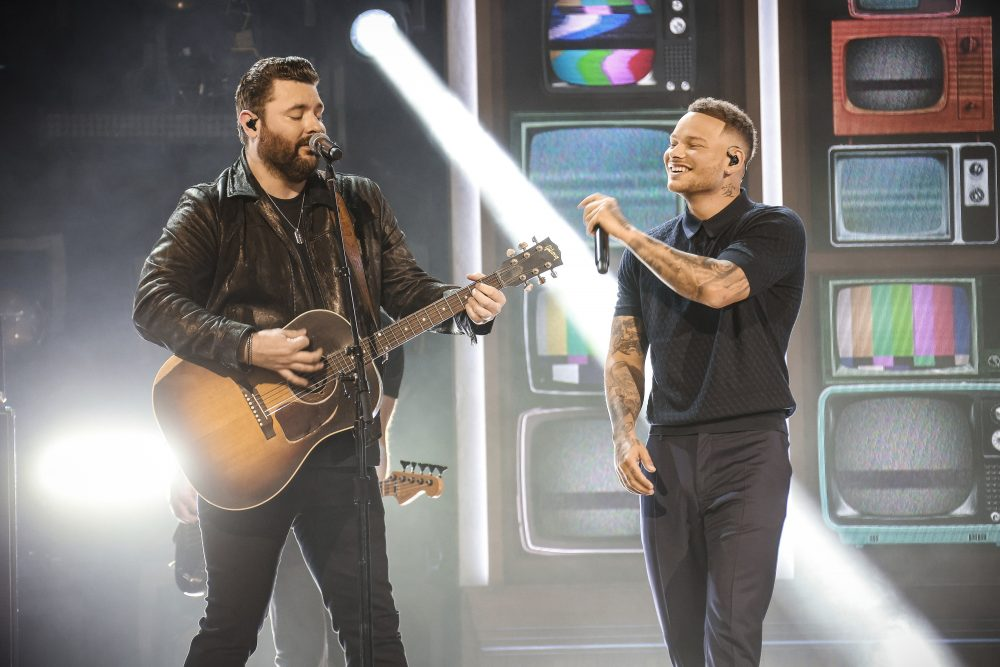 Kane Brown and Chris Young Salute 'Famous Friends' on ACM Awards