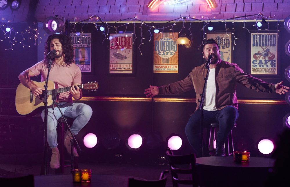 Dan + Shay Address Technical Difficulties During ACM Performance