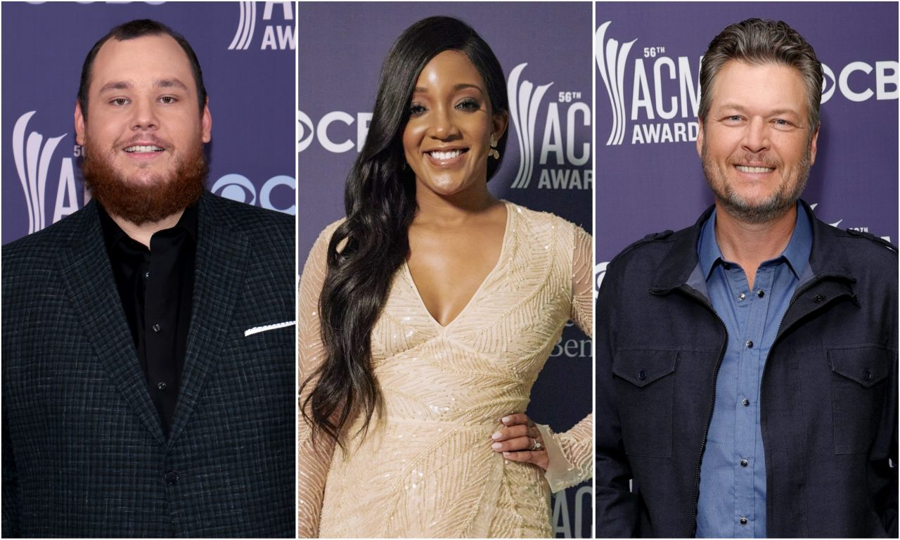 See the Fashion on the 56th Annual ACM Awards Red Carpet