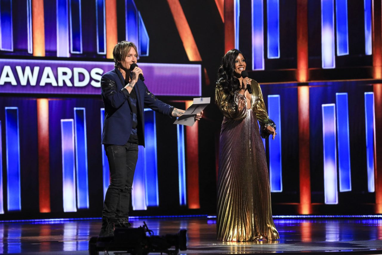 Mickey Guyton and Keith Urban Thank Each Other For Co-Hosting ACMs