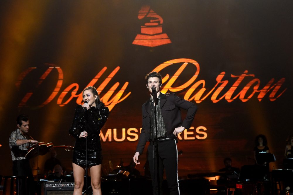 See Miley Cyrus and Shawn Mendes Cover Dolly Parton on Netflix
