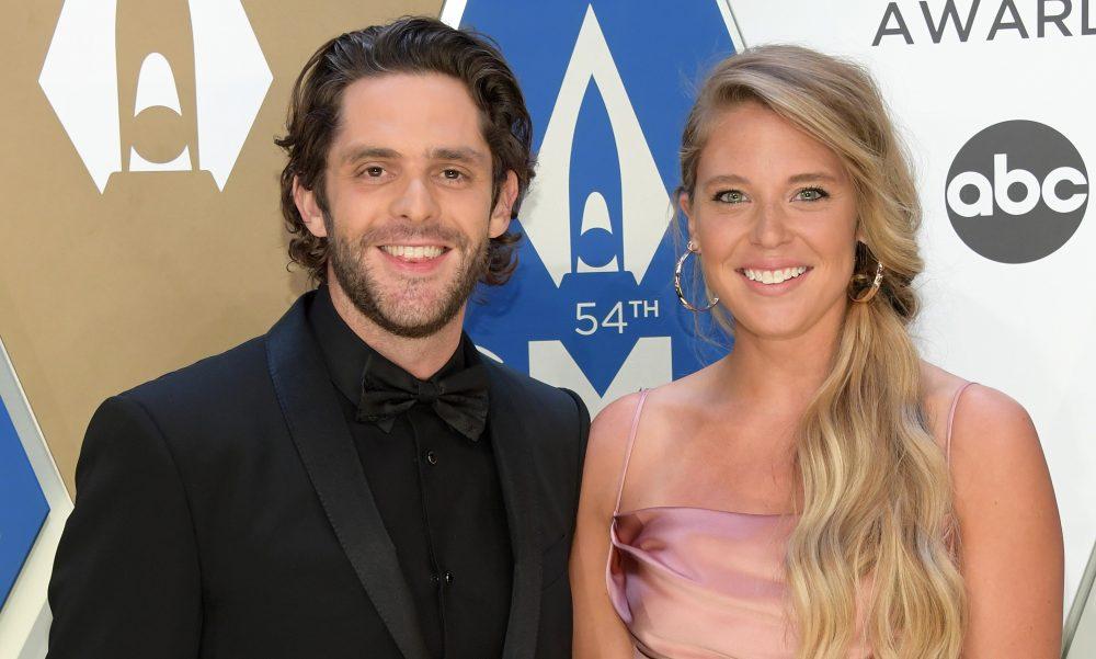 Thomas Rhett Salutes Wife Lauren Akins: 'She's My Superhero'