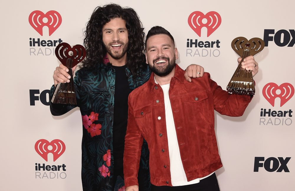Dan + Shay Play 'Glad You Exist' for a Live Crowd at iHeartRadio Awards