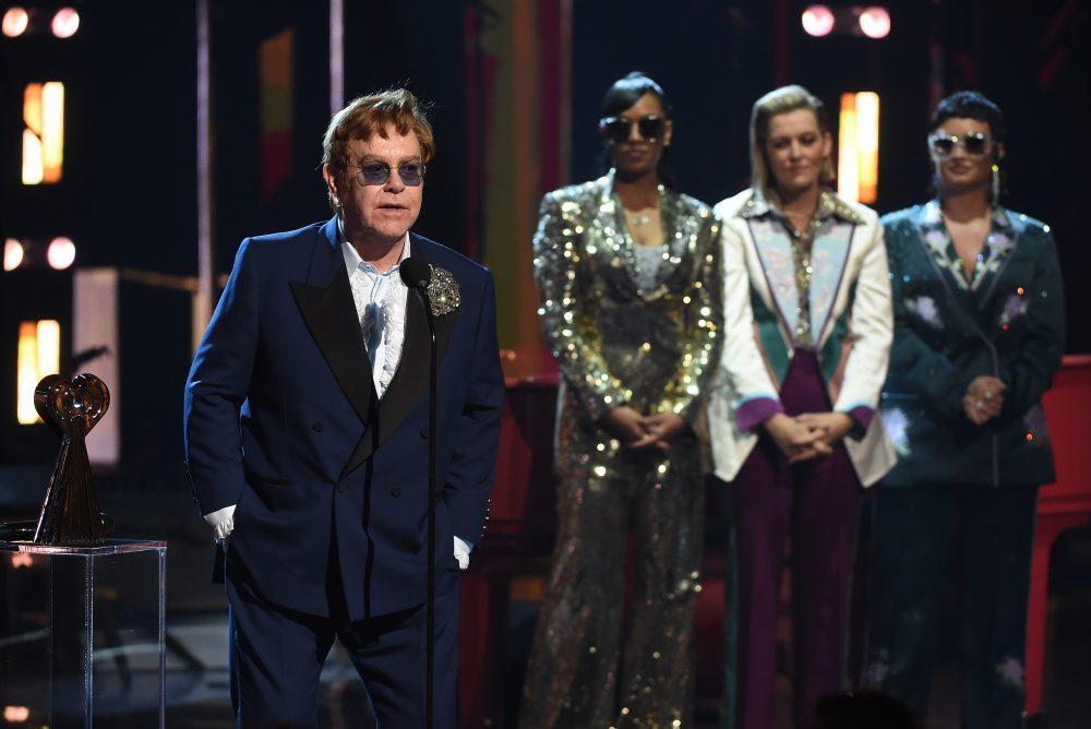 Watch H.E.R., Brandi Carlile and Demi Lovato Tribute Elton John