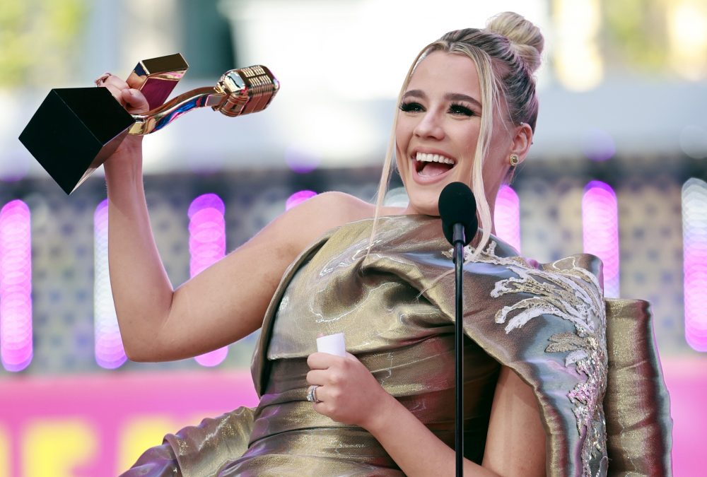 Gabby Barrett Celebrates Winning Three Billboard Music Awards