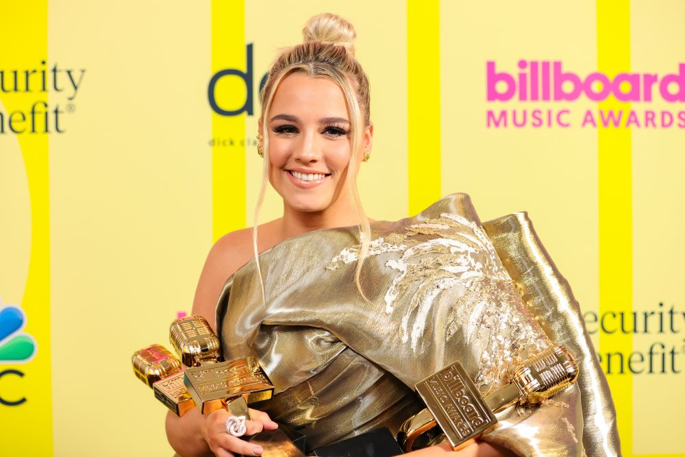 Gabby Barrett, Carrie Underwood Bring Home Gold at the 2021 Billboard Music Awards