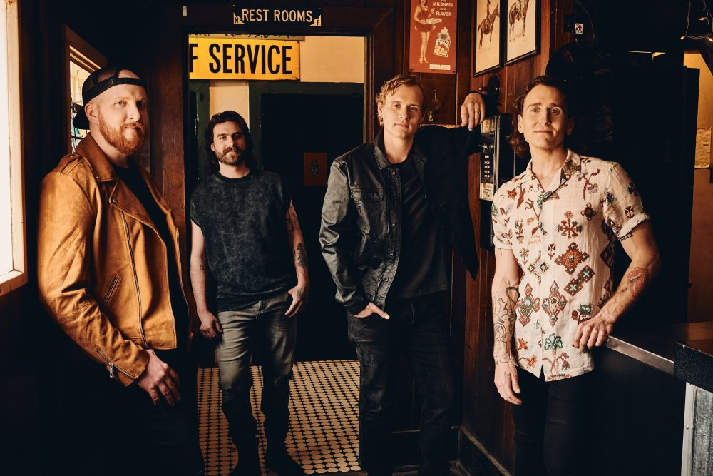James Barker Band Debuts New Single, 'Over All Over Again'