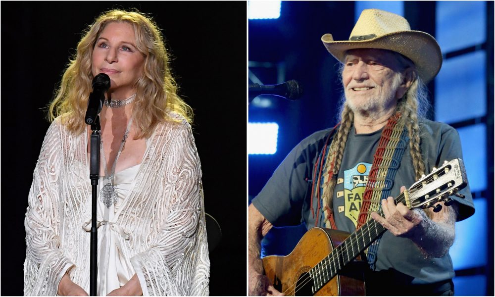 Barbra Streisand and Willie Nelson Duet for 'I'd Want It to Be You'