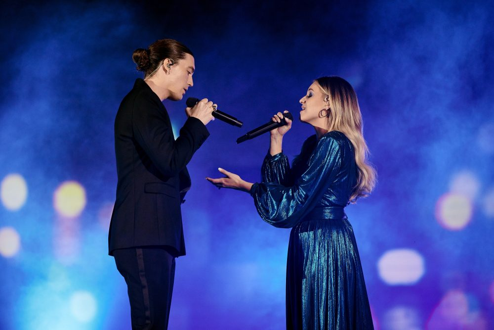 Kelsea Ballerini and Paul Klein from LANY Debut 'I Quit Drinking' on CMT Awards