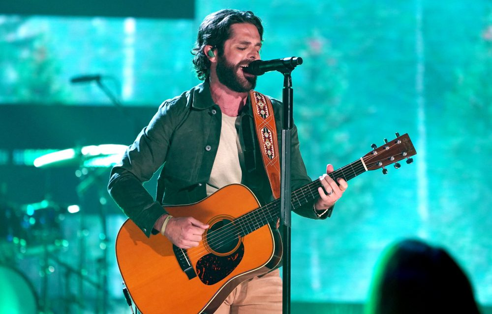 Thomas Rhett Gives Update on Soon-to-Arrive Daughter Number Four
