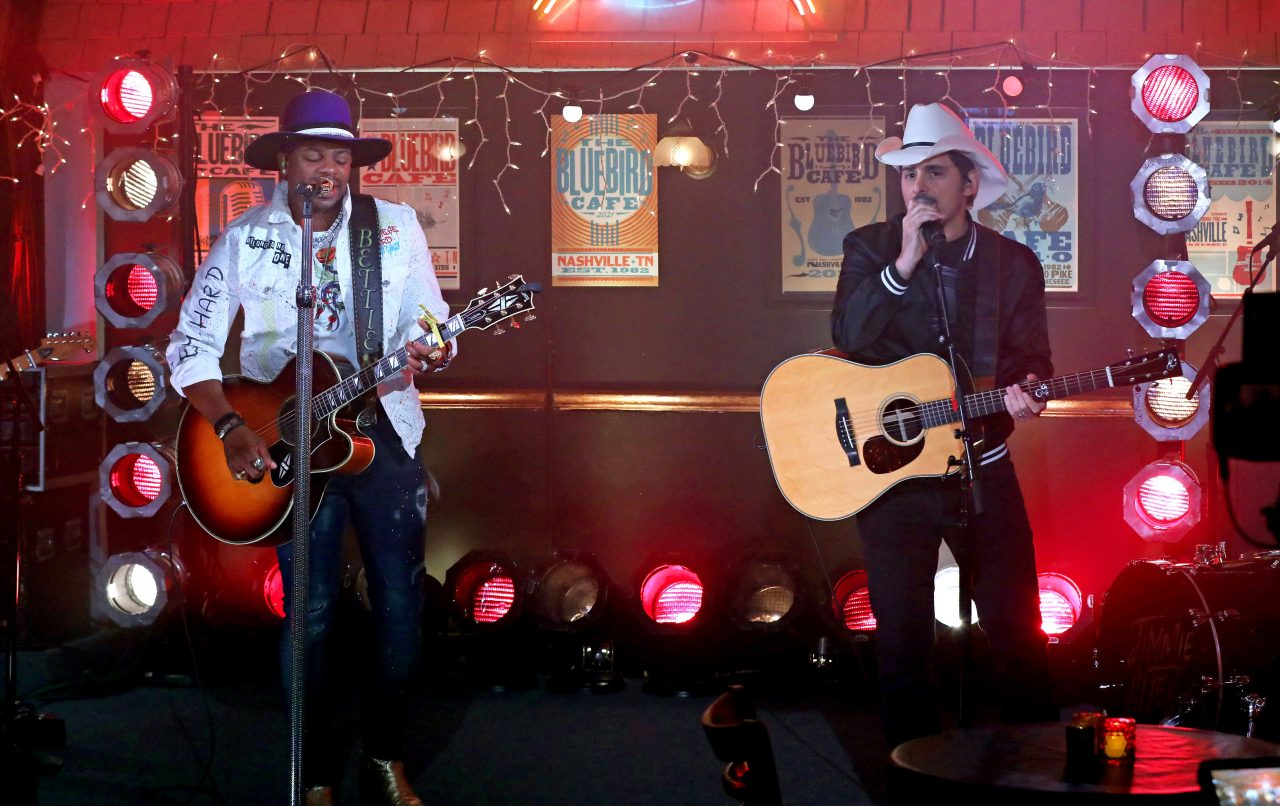 Jimmie Allen and Brad Paisley Tease Plan for 'Freedom Was a Highway'