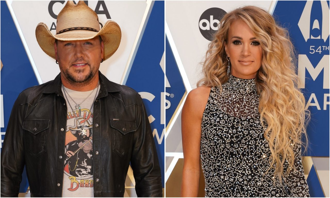 Jason Aldean and Carrie Underwood Film Epic 'If I Didn't Love You' Video