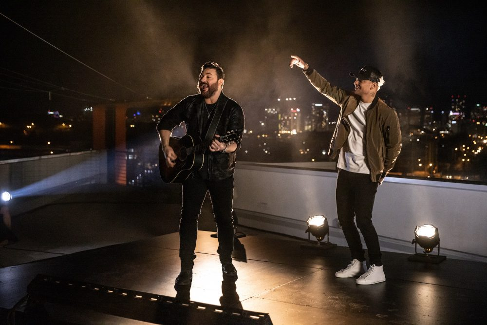 Chris Young and Kane Brown Hit Number One With 'Famous Friends'