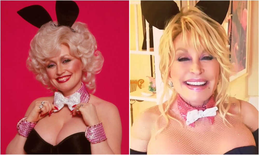 Dolly Parton Recreates Iconic 'Playboy' Cover at 75