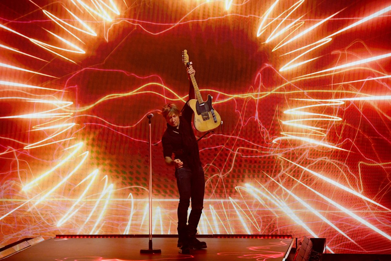 Keith Urban Helps Open Olympic Games With 'Imagine'