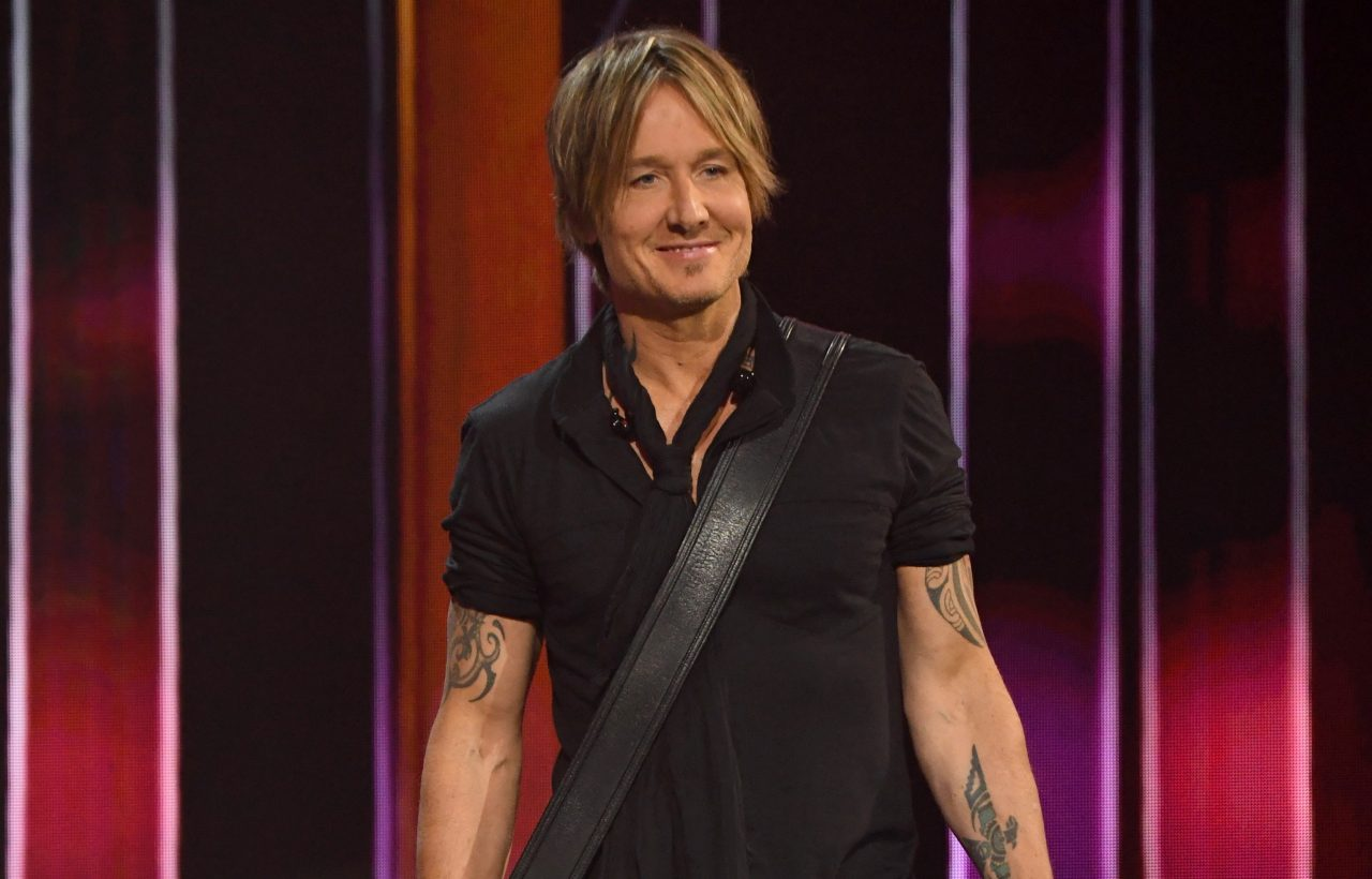 Keith Urban and Breland Sing 'Lean On Me' Backstage at 'Hometown Rising' Benefit
