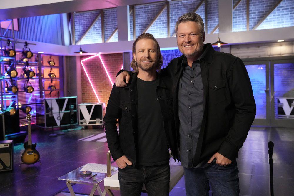 Dierks Bentley, Jason Aldean Join 'The Voice' as Battle Advisors