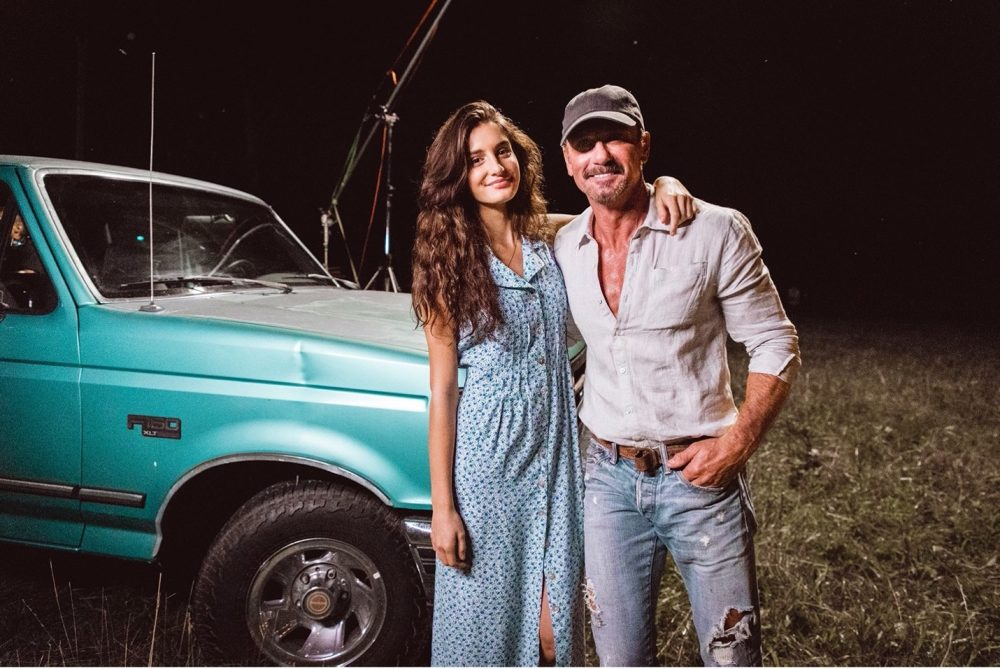 Tim McGraw Casts Daughter Audrey in '7500 OBO' Video