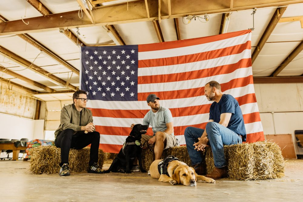 Bobby Bones Sheds Light on the Need for Service Dogs for Veterans in Documentary 'Even Heroes Need Heroes'