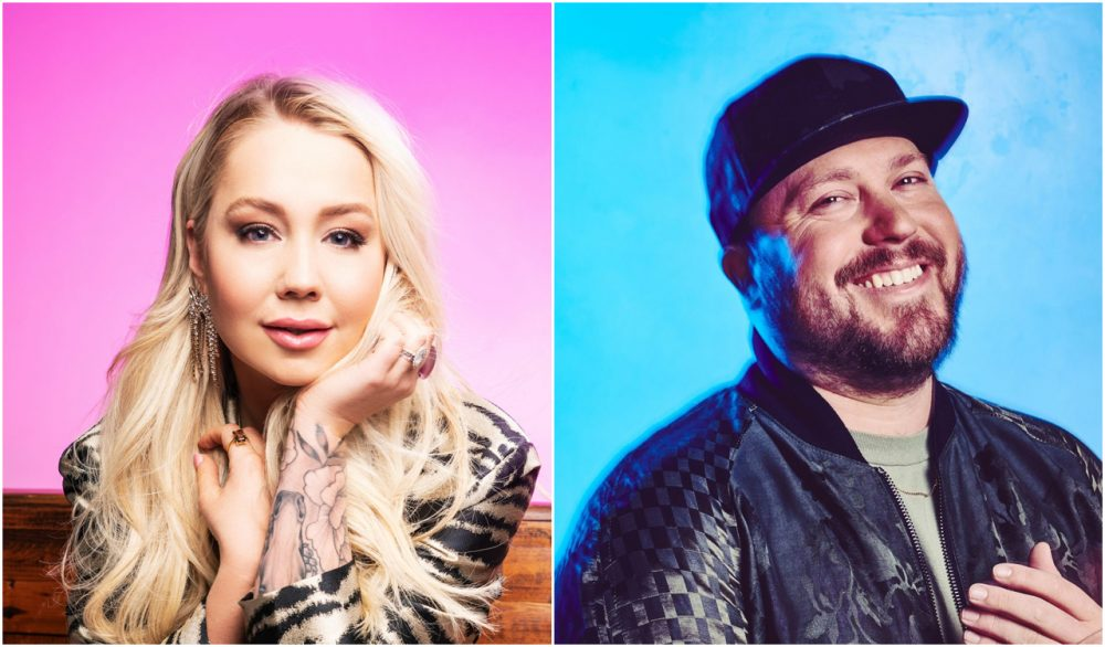 Raelynn Picks Up Mitchell Tenpenny With Playful 'Get That All the Time'