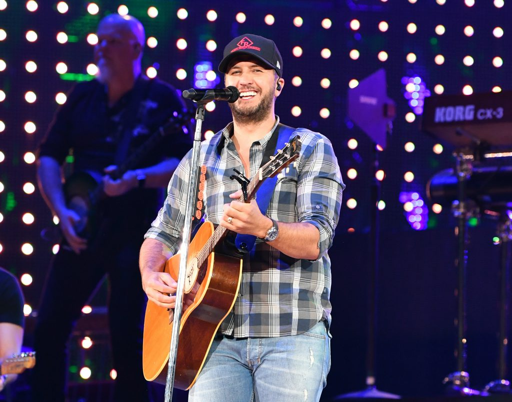 Luke Bryan at the Houston Livestock Show and Rodeo